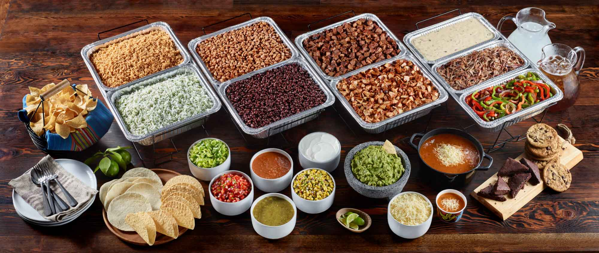 Qdoba Mexican Food Catering in Morgantown, Beckley and Charleston West Virginia