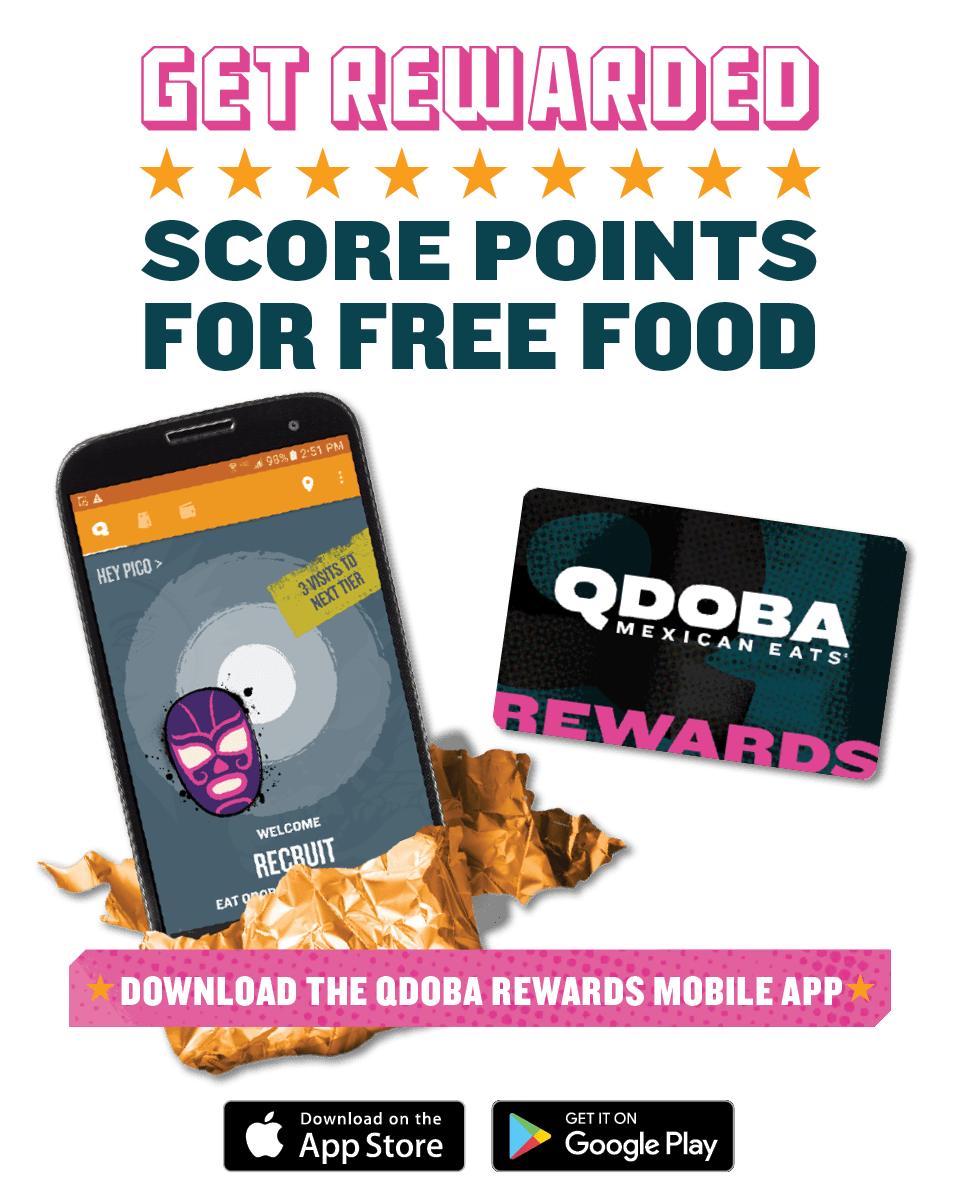 Qdoba Rewards Loyalty Program Earn Free Food